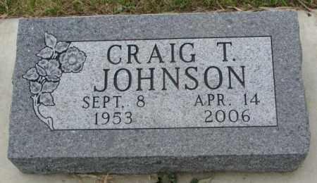 JOHNSON, CRAIG T. - Lincoln County, South Dakota | CRAIG T. JOHNSON - South Dakota Gravestone Photos