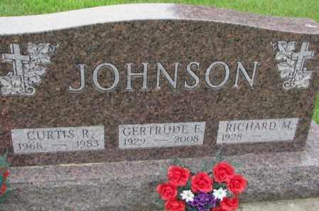 JOHNSON, GERTRUDE F. - Lincoln County, South Dakota | GERTRUDE F. JOHNSON - South Dakota Gravestone Photos