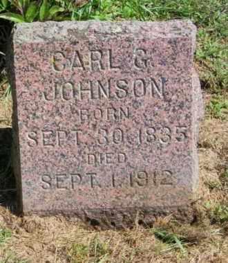 JOHNSON, CARL G. - Lincoln County, South Dakota   CARL G. JOHNSON - South Dakota Gravestone Photos