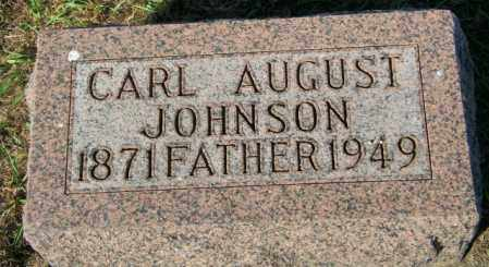 JOHNSON, CARL AUGUST - Lincoln County, South Dakota | CARL AUGUST JOHNSON - South Dakota Gravestone Photos