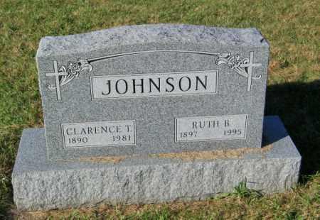 JOHNSON, CLARENCE T. - Lincoln County, South Dakota | CLARENCE T. JOHNSON - South Dakota Gravestone Photos