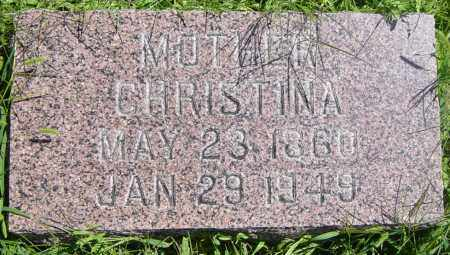 JOHNSON, CHRISTINA - Lincoln County, South Dakota | CHRISTINA JOHNSON - South Dakota Gravestone Photos