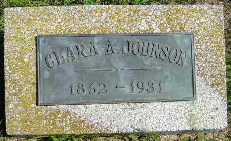 JOHNSON, CLARA A - Lincoln County, South Dakota | CLARA A JOHNSON - South Dakota Gravestone Photos