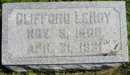 JOHNSON, CLIFFORD LEROY - Lincoln County, South Dakota | CLIFFORD LEROY JOHNSON - South Dakota Gravestone Photos