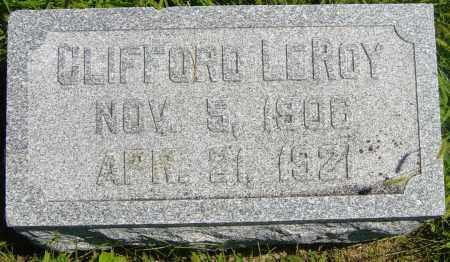 JOHNSON, CLIFFORD LEROY - Lincoln County, South Dakota | CLIFFORD LEROY JOHNSON - South Dakota Gravestone Photos