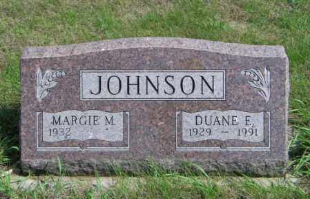 JOHNSON, DUANE E - Lincoln County, South Dakota | DUANE E JOHNSON - South Dakota Gravestone Photos