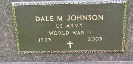 JOHNSON, DALE M. - Lincoln County, South Dakota | DALE M. JOHNSON - South Dakota Gravestone Photos