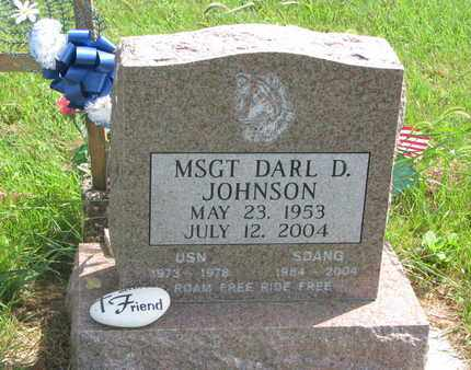 JOHNSON, DARL D. (MSGT.) - Lincoln County, South Dakota   DARL D. (MSGT.) JOHNSON - South Dakota Gravestone Photos