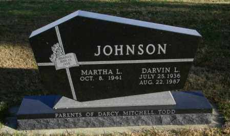 JOHNSON, MARTHA L. - Lincoln County, South Dakota | MARTHA L. JOHNSON - South Dakota Gravestone Photos