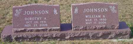 JOHNSON, WILLIAM A - Lincoln County, South Dakota | WILLIAM A JOHNSON - South Dakota Gravestone Photos