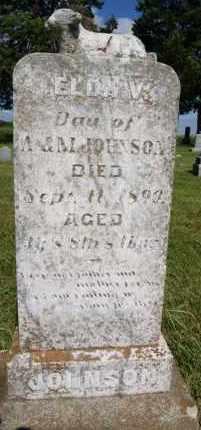 JOHNSON, ELDA V - Lincoln County, South Dakota   ELDA V JOHNSON - South Dakota Gravestone Photos