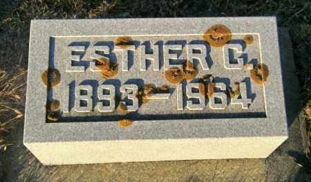 JOHNSON, ESTHER C - Lincoln County, South Dakota | ESTHER C JOHNSON - South Dakota Gravestone Photos