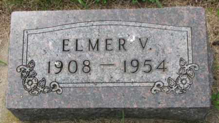 JOHNSON, ELMER V. - Lincoln County, South Dakota | ELMER V. JOHNSON - South Dakota Gravestone Photos