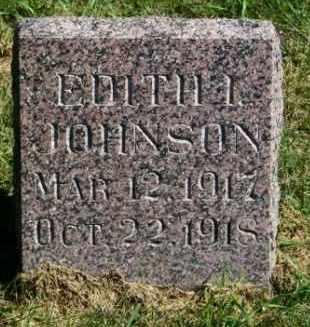 JOHNSON, EDITH I. - Lincoln County, South Dakota | EDITH I. JOHNSON - South Dakota Gravestone Photos