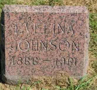 JOHNSON, EVELINA - Lincoln County, South Dakota   EVELINA JOHNSON - South Dakota Gravestone Photos