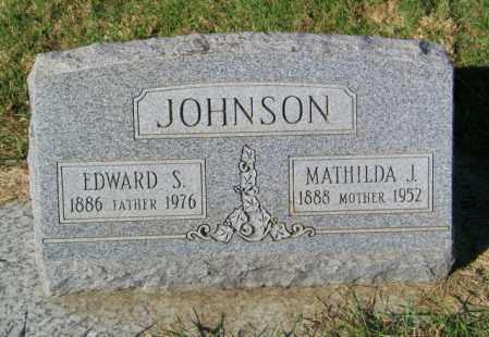 JOHNSON, EDWARD S. - Lincoln County, South Dakota | EDWARD S. JOHNSON - South Dakota Gravestone Photos