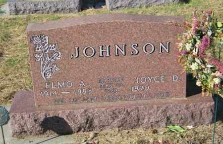 JOHNSON, ELMO A. - Lincoln County, South Dakota | ELMO A. JOHNSON - South Dakota Gravestone Photos