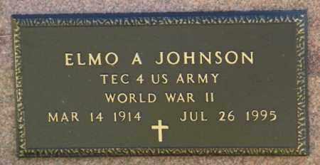 JOHNSON, ELMO A. - Lincoln County, South Dakota | ELMO A. JOHNSON - South Dakota Gravestone Photos