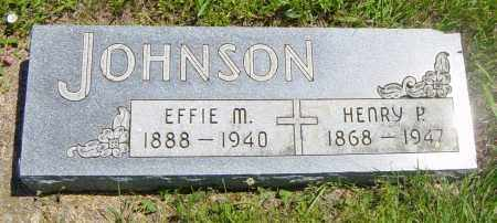 JOHNSON, EFFIE M - Lincoln County, South Dakota | EFFIE M JOHNSON - South Dakota Gravestone Photos