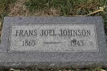 JOHNSON, FRANS JOEL - Lincoln County, South Dakota | FRANS JOEL JOHNSON - South Dakota Gravestone Photos