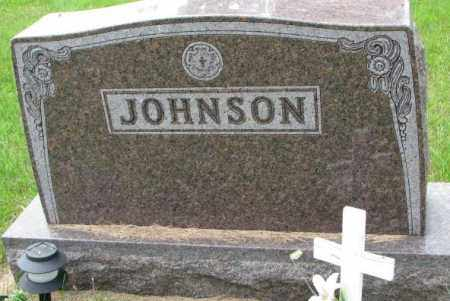 JOHNSON, FAMILY PLOT MARKER - Lincoln County, South Dakota | FAMILY PLOT MARKER JOHNSON - South Dakota Gravestone Photos