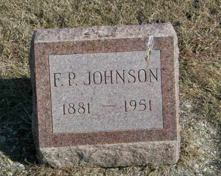 JOHNSON, F P - Lincoln County, South Dakota | F P JOHNSON - South Dakota Gravestone Photos