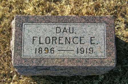 JOHNSON, FLORENCE E - Lincoln County, South Dakota   FLORENCE E JOHNSON - South Dakota Gravestone Photos