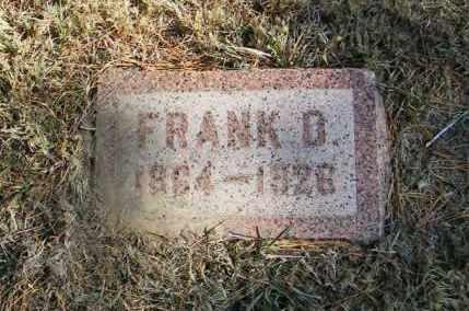 JOHNSON, FRANK O - Lincoln County, South Dakota   FRANK O JOHNSON - South Dakota Gravestone Photos