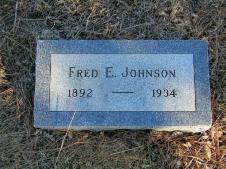 JOHNSON, FRED E - Lincoln County, South Dakota | FRED E JOHNSON - South Dakota Gravestone Photos