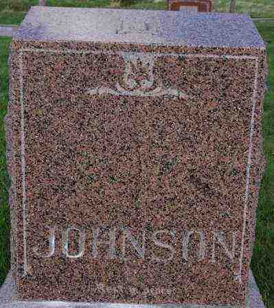 JOHNSON, FAMILY MARKER - Lincoln County, South Dakota | FAMILY MARKER JOHNSON - South Dakota Gravestone Photos