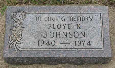 JOHNSON, FLOYD K. - Lincoln County, South Dakota | FLOYD K. JOHNSON - South Dakota Gravestone Photos
