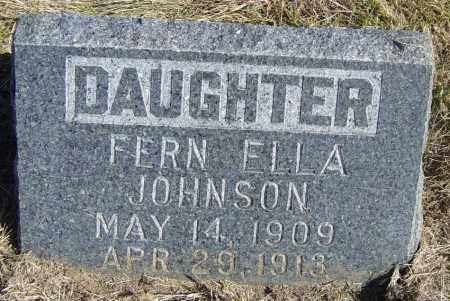 JOHNSON, FERN ELLA - Lincoln County, South Dakota | FERN ELLA JOHNSON - South Dakota Gravestone Photos