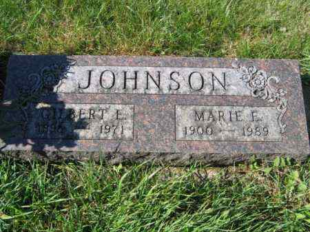 JOHNSON, MARIE E - Lincoln County, South Dakota | MARIE E JOHNSON - South Dakota Gravestone Photos