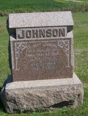 JOHNSON, MAREN - Lincoln County, South Dakota | MAREN JOHNSON - South Dakota Gravestone Photos