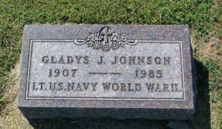 JOHNSON, GLADYS J - Lincoln County, South Dakota | GLADYS J JOHNSON - South Dakota Gravestone Photos