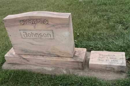 JOHNSON, GUSTAV A - Lincoln County, South Dakota | GUSTAV A JOHNSON - South Dakota Gravestone Photos