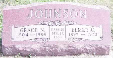 JOHNSON, ELMER C - Lincoln County, South Dakota | ELMER C JOHNSON - South Dakota Gravestone Photos