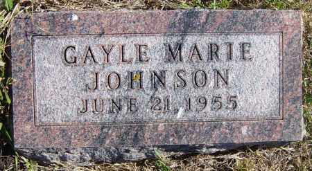 JOHNSON, GAYLE MARIE - Lincoln County, South Dakota | GAYLE MARIE JOHNSON - South Dakota Gravestone Photos