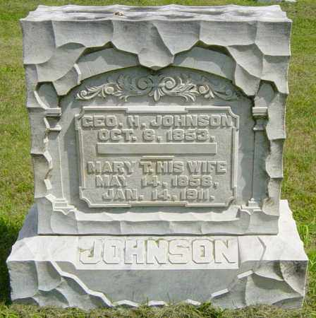 JOHNSON, GEORGE H - Lincoln County, South Dakota | GEORGE H JOHNSON - South Dakota Gravestone Photos