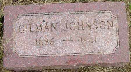 JOHNSON, GILMAN - Lincoln County, South Dakota   GILMAN JOHNSON - South Dakota Gravestone Photos