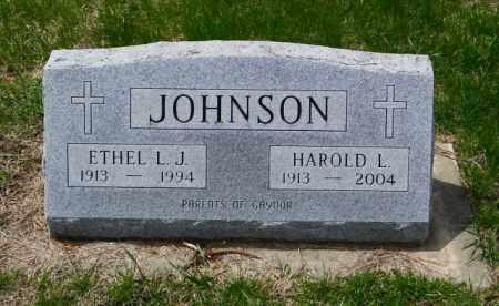 JOHNSON, HAROLD I - Lincoln County, South Dakota | HAROLD I JOHNSON - South Dakota Gravestone Photos