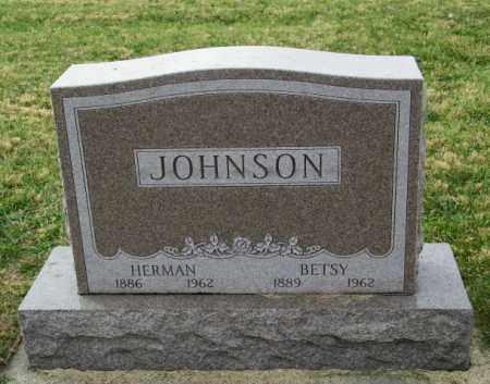 JOHNSON, BETSY - Lincoln County, South Dakota   BETSY JOHNSON - South Dakota Gravestone Photos