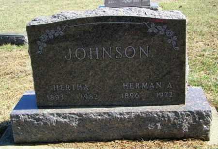 JOHNSON, HERTHA - Lincoln County, South Dakota   HERTHA JOHNSON - South Dakota Gravestone Photos