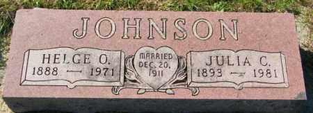 JOHNSON, JULIA C. - Lincoln County, South Dakota   JULIA C. JOHNSON - South Dakota Gravestone Photos