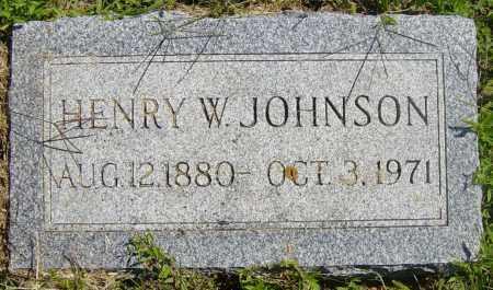 JOHNSON, HENRY W - Lincoln County, South Dakota | HENRY W JOHNSON - South Dakota Gravestone Photos