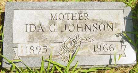 JOHNSON, IDA G - Lincoln County, South Dakota | IDA G JOHNSON - South Dakota Gravestone Photos