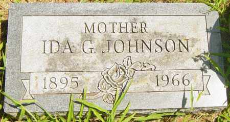 JOHNSON, IDA G - Lincoln County, South Dakota | IDA G JOHNSON - South Dakota Gravestone Photos