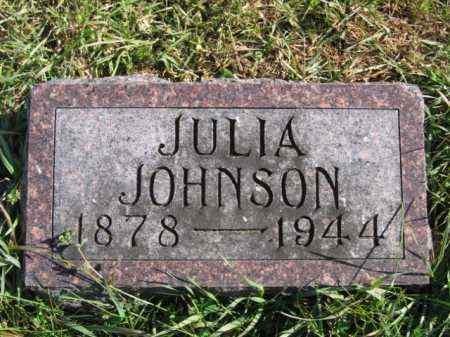 JOHNSON, JULIA - Lincoln County, South Dakota | JULIA JOHNSON - South Dakota Gravestone Photos