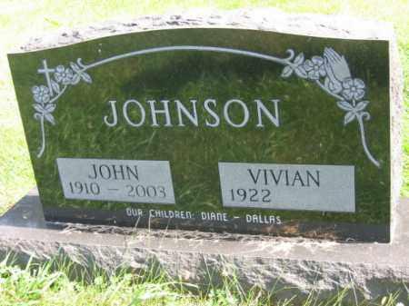 JOHNSON, VIVIAN - Lincoln County, South Dakota | VIVIAN JOHNSON - South Dakota Gravestone Photos