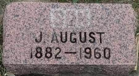 JOHNSON, J AUGUST - Lincoln County, South Dakota | J AUGUST JOHNSON - South Dakota Gravestone Photos
